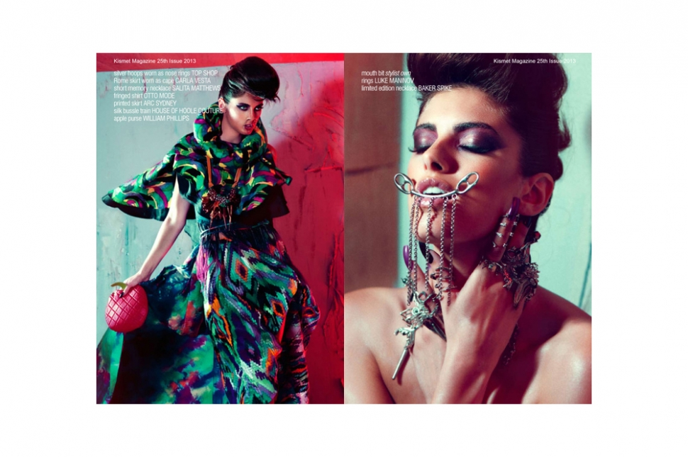 Fashion Editorial 'I Am Her' Published In Kismet